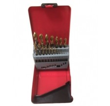 Metaalborencassette 19-delig 1-10mm om de 1/2