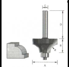 bovenrond frees Ø31,8mm H16,5mm
