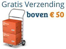 Gratis verzending boven de 50 euro