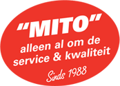 MITO, alleen al om de service & kwaliteit. Sinds 1988